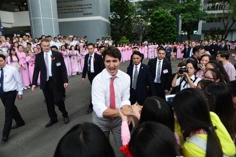 Thu tuong Trudeau den Da Nang du APEC hinh anh 18
