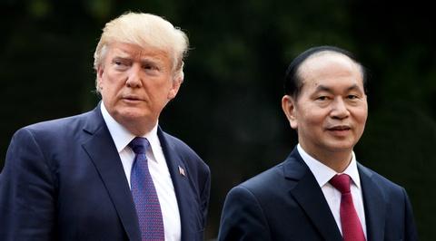 TT Trump toi VN: 'Quan he Viet - My phat trien qua nhanh, vuot bac' hinh anh