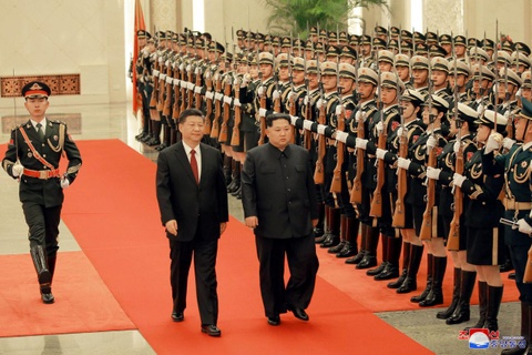 Kim Jong Un va chuyen tham bi an toi Bac Kinh hinh anh 2