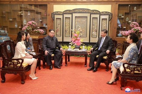 Kim Jong Un va chuyen tham bi an toi Bac Kinh hinh anh 11