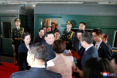 Kim Jong Un va chuyen tham bi an toi Bac Kinh hinh anh 9
