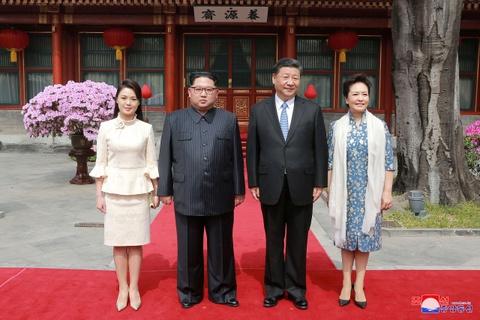 Kim Jong Un va chuyen tham bi an toi Bac Kinh hinh anh 8
