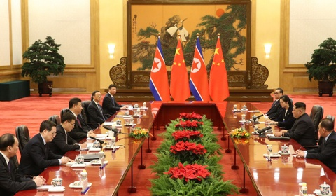 Kim Jong Un va chuyen tham bi an toi Bac Kinh hinh anh 5