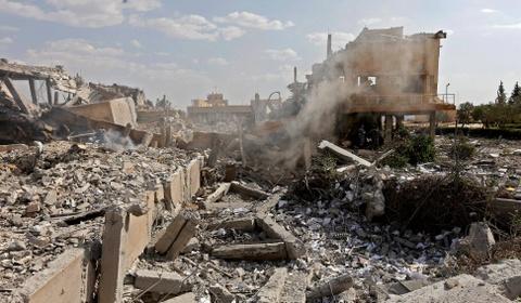 Vien nghien cuu Syria bi ten lua My 'bam' thanh dong do nat hinh anh 4