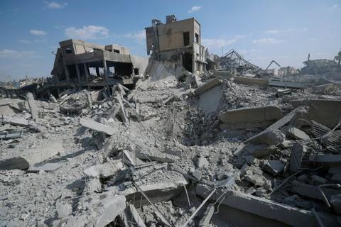 Vien nghien cuu Syria bi ten lua My 'bam' thanh dong do nat hinh anh 8
