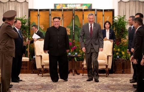 Singapore co the ton 20 trieu SGD cho cuoc gap Trump - Kim hinh anh
