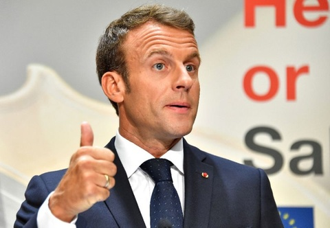 Ty le ung ho Macron o muc thap ky luc hinh anh