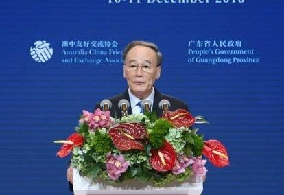 Vương Kỳ Sơn: TQ giữ tập trung chiến lược trong chiến tranh thương mại