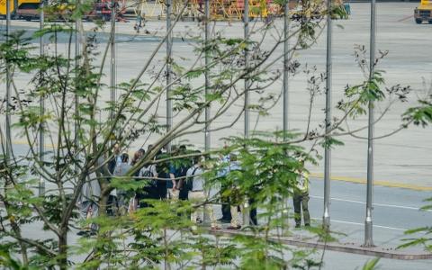 Mat vu My tien tram san bay Noi Bai, chuan bi don TT Trump hinh anh 11