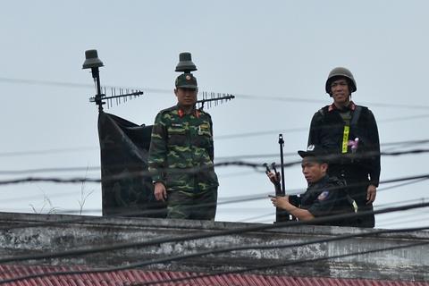 Ga Dong Dang tang cuong an ninh truoc gio tien ong Kim Jong Un hinh anh 3