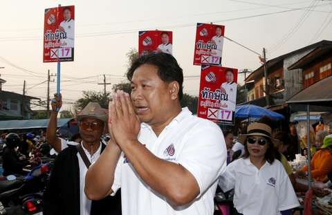 Doi ten thanh Thaksin, ung vien hy vong lay long cu tri Thai hinh anh 2