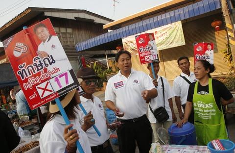 Doi ten thanh Thaksin, ung vien hy vong lay long cu tri Thai hinh anh 4