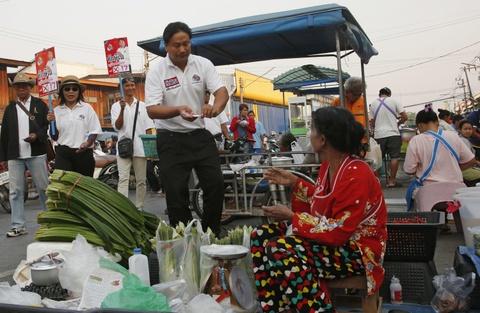Doi ten thanh Thaksin, ung vien hy vong lay long cu tri Thai hinh anh 1