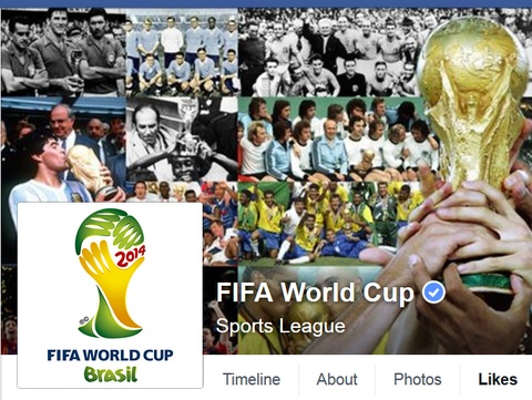 World Cup 2014 can moc 1 ty tuong tac tren Facebook hinh anh