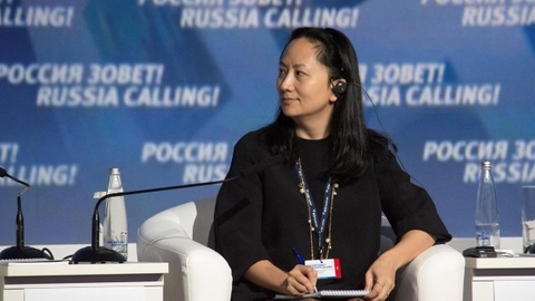 Bà Mạnh Vãn Châu bị bắt ở Canada và đối mặt với nguy cơ bị dẫn độ sang Mỹ. Ảnh: Reuters.
