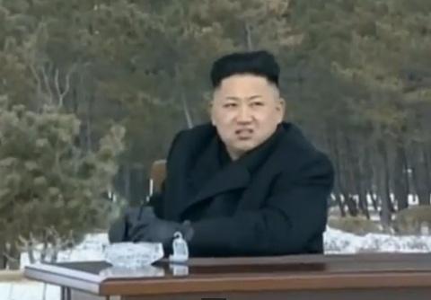 Kim Jong Un thi sat dien tap ban dan that ven bien hinh anh