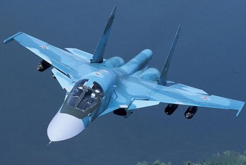 Nga khoe 'xe tang bay' Su-34 the he moi hinh anh