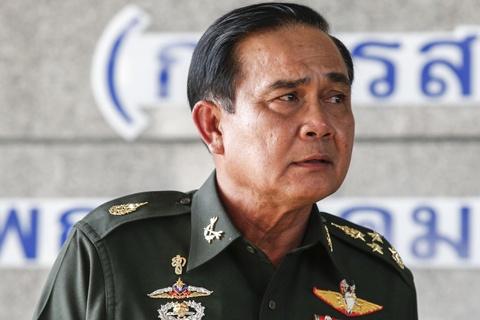 Tuong chi huy dao chinh tro thanh tan thu tuong Thai Lan hinh anh