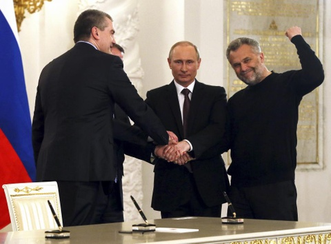 Hinh anh lich su trong su kien sap nhap ban dao Crimea hinh anh