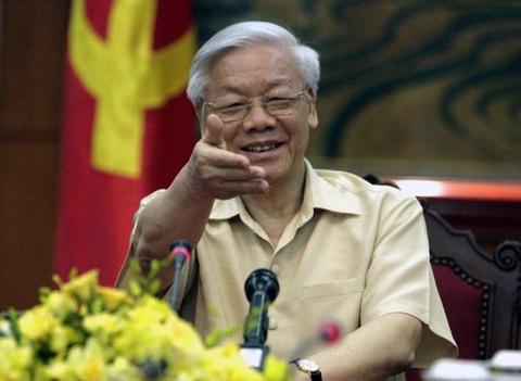 My trai tham do don Tong Bi thu Nguyen Phu Trong hinh anh
