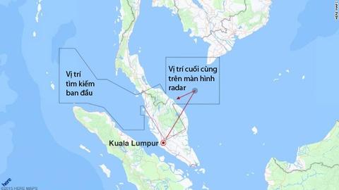 Hanh trinh dinh menh cua MH370 tren ban do hinh anh