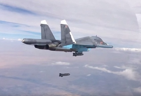 Can canh Su-34 Nga doi bom phien quan IS hinh anh