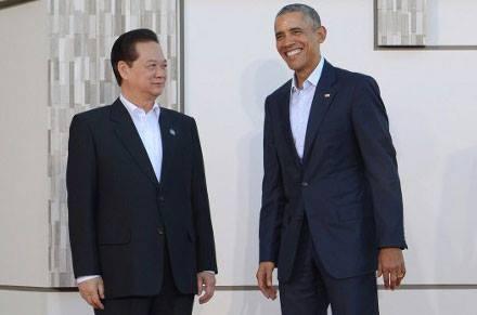 Cac nha lanh dao du Hoi nghi 'khong ca vat' My - ASEAN hinh anh
