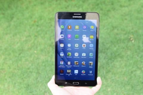 Samsung Galaxy Tab A6: Thiet ke vua tay, cau hinh kha hinh anh