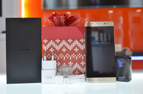 Samsung Galaxy Note 7 Han Quoc ve VN, gia 17 trieu hinh anh