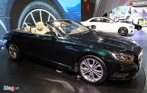 Video Mercedes S500 gia 10,8 ty tai Viet Nam hinh anh