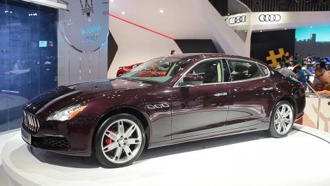Video Maserati Quattroporte 2017 dau tien tai VN hinh anh