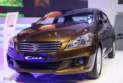 Suzuki Ciaz gia 580 trieu - doi thu Toyota Vios, Honda City hinh anh