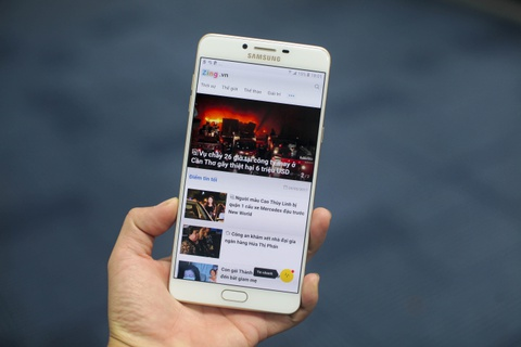 Anh smartphone RAM 6 GB dau tien cua Samsung sap ban tai VN hinh anh 13