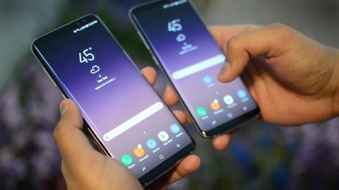 Vi sao Galaxy S8 dung man hinh vo cuc? hinh anh