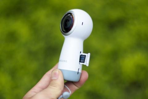 Anh thuc te Samsung Gear 360: Thiet ke moi, ho tro live video hinh anh 12