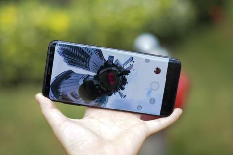 Anh thuc te Samsung Gear 360: Thiet ke moi, ho tro live video hinh anh 13