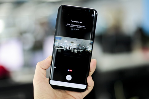 Anh thuc te Samsung Gear 360: Thiet ke moi, ho tro live video hinh anh 14