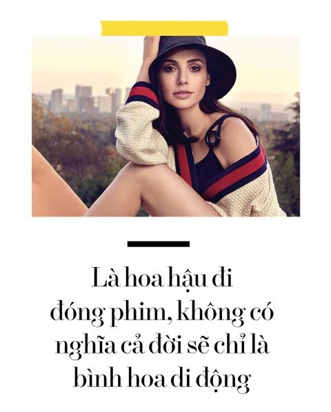 My nhan 'Wonder Woman': Hoa hau noi loan va doi giay bet tren tham do hinh anh 9