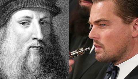 Leonardo DiCaprio dong vai Leonardo da Vinci trong phim tieu su moi hinh anh