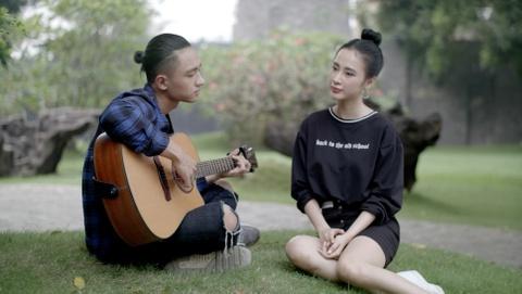 'Glee 11': Huu Vi tro tai danh dan guitar va hat 'Ba ke con nghe' hinh anh 5