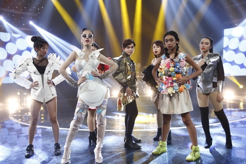 'Glee' tap 20: Angela Phuong Trinh quyet dinh cung Huu Vi nuoi con hinh anh 2