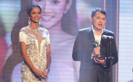Huu Chau, Kaity Nguyen thang giai Ngoi sao xanh 2017 hinh anh