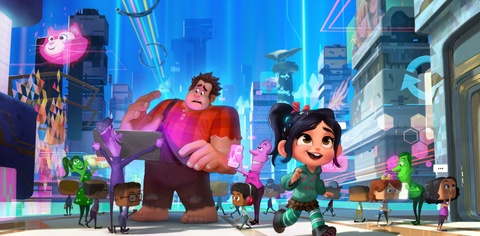 Trailer phim hoat hinh 'Wreck-It Ralph 2' hinh anh