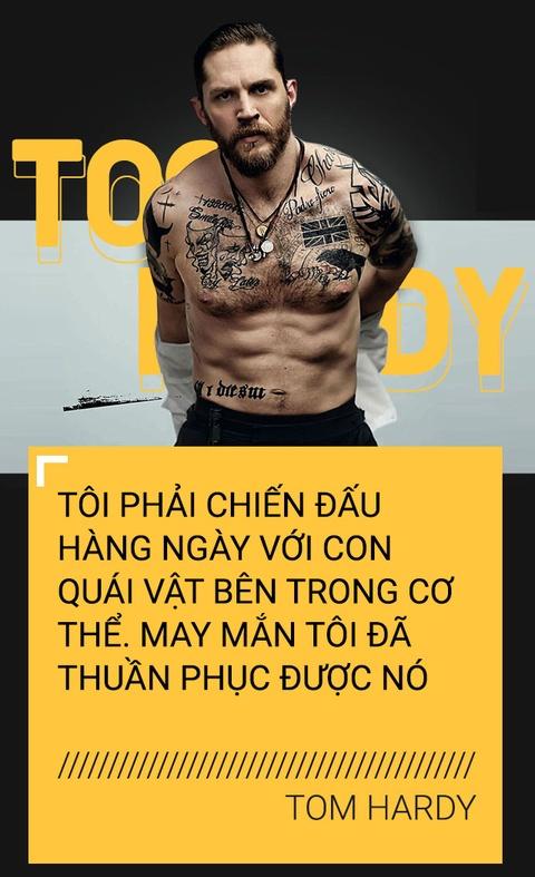 Tom Hardy: Bao luc, nghien ngap va 'con quai vat' ben trong tam hon hinh anh 9