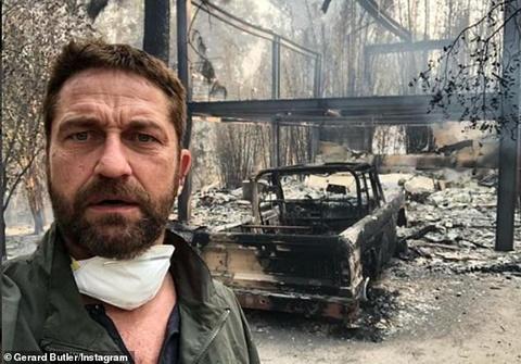 Nhiều sao Hollywood bàng hoàng vì nhà cửa bị thiêu rụi vì cháy lớn