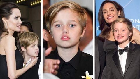Con gái tom boy nhà Angelina Jolie ngày càng ra dáng con trai
