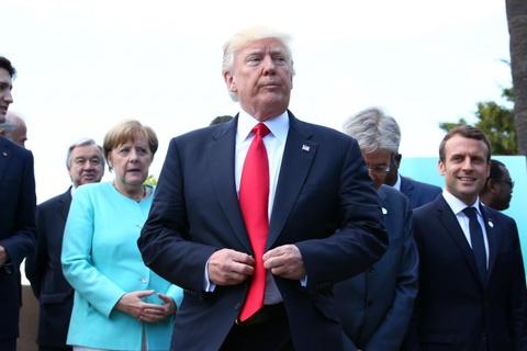 TT Trump 'pha hoai' chuong trinh nghi su Hoi nghi Thuong dinh G7 hinh anh 1