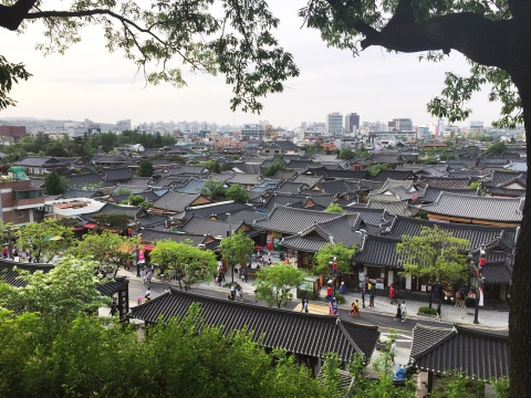 du lich pho co jeonju han quoc hinh anh