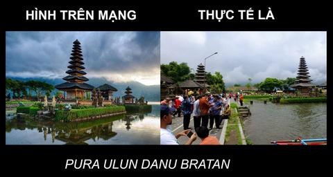 Anh thuc te 'khong nhu mo' o Bali hinh anh 1