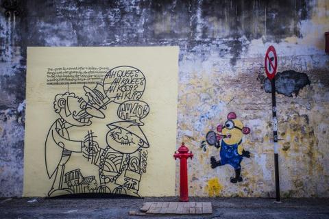 Truy tim nhung buc tranh tuong o Penang hinh anh 4